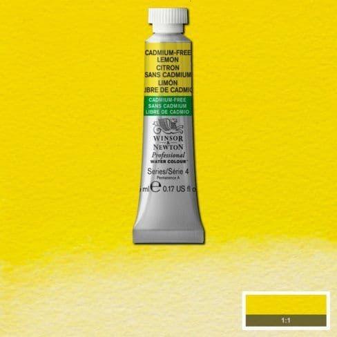 Winsor and Newton Professional Watercolour 5ml Cadmium-Free